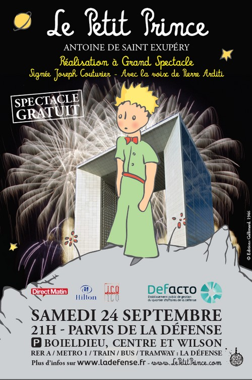 The Little Prince: coming soon to La Défense…