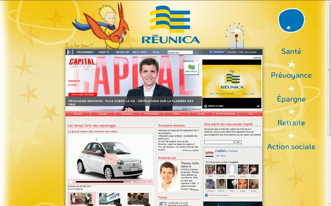The Réunica Little Prince featured on the Capital website