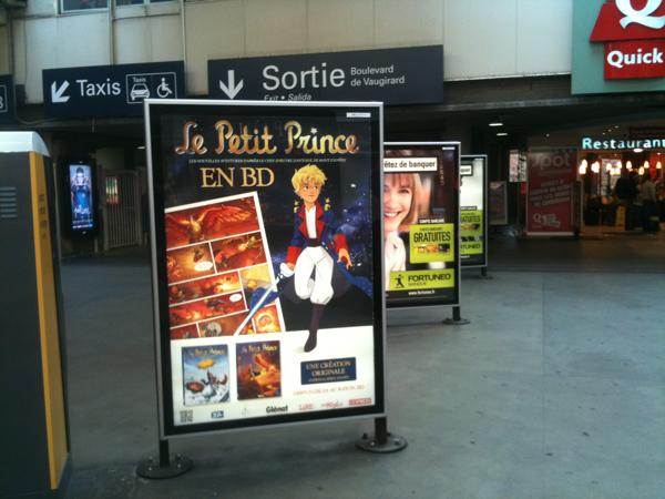 Seen at Montparnasse station